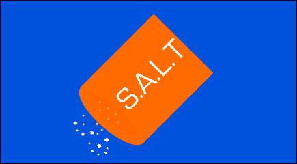 SALT infographic for Material Handling Design