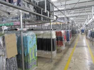 garment on hanger distribution